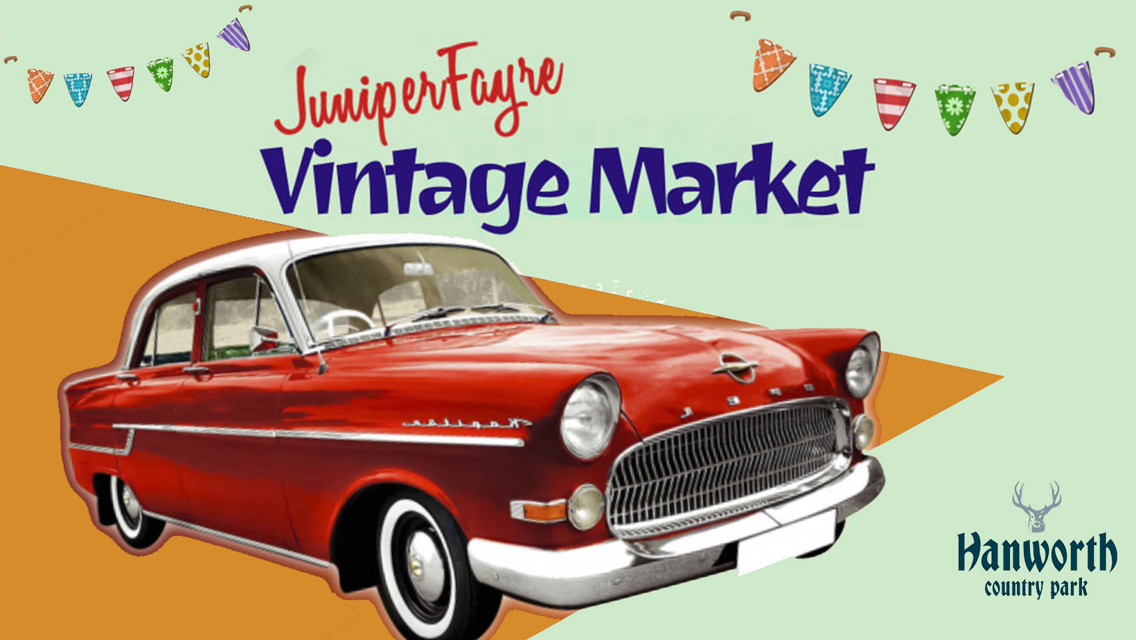 Vintage Market & Classic Car Show comes to Hanworth Country Park